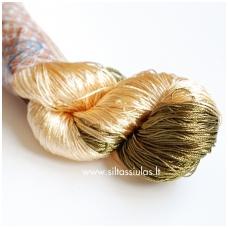 Ajur 052 gelsva - auksinė - alyvuogių žalia