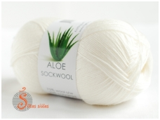 Aloe Sockwool 100 balta