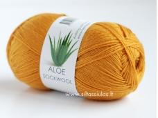 Aloe Sockwool 5752 tamsiai geltona