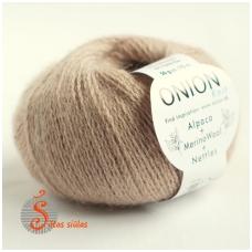 Alpaca + Merino Wool + Nettles 1207 rusva