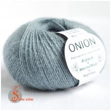 Alpaca + Merino Wool + Nettles 1211 žalsvai pilka