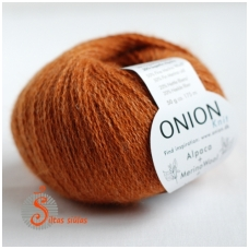 Alpaca + Merino Wool + Nettles 1214 oranžinė
