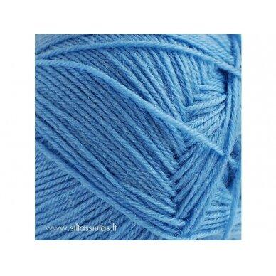 Aloe Sockwool 4030 dangiška mėlyna 2