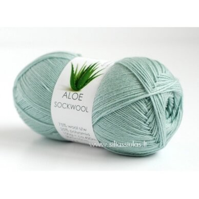 Aloe Sockwool 5106 mėtinė žalsva