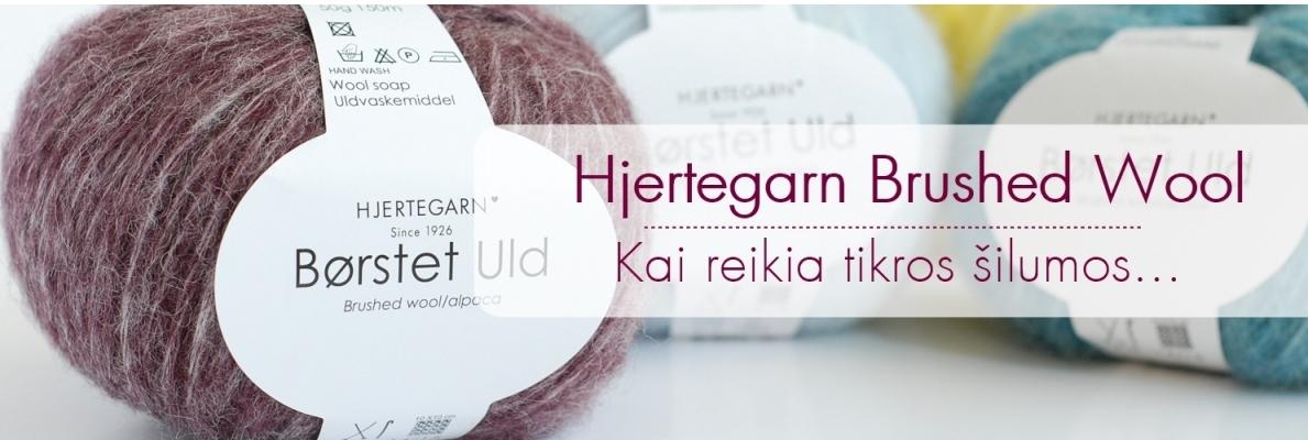 Hjertegarn Brushed Wool naujiena