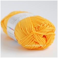 Cotton Queen 0114 tamsesnė geltona