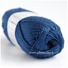 Cotton Queen 0126 tamsi džinsų mėlyna