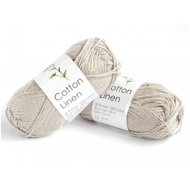 Cotton Linen 3010 rusvo lino