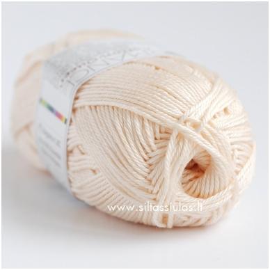 Cotton Queen 0102 kreminė balta