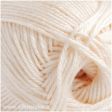 Cotton Queen 0102 kreminė balta 2