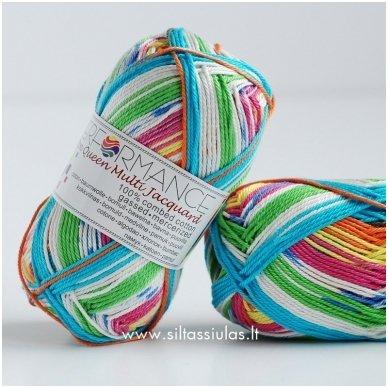 Cotton Queen Multi Jacquard 10457 Saldainiai