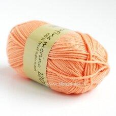 Extrafine Merino 120  gaivi oranžinė 1224