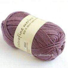 Extrafine Merino 120 pilkai violetinė 1850