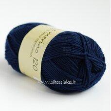 Extrafine Merino 120 tamsiai mėlyna 1660