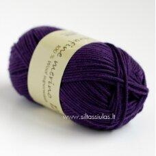 Extrafine Merino 120 tamsiai violetinė 1800