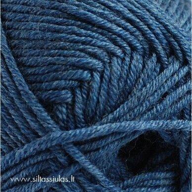 Extrafine Merino 120 tamsesnė džinso mėlyna 904 2