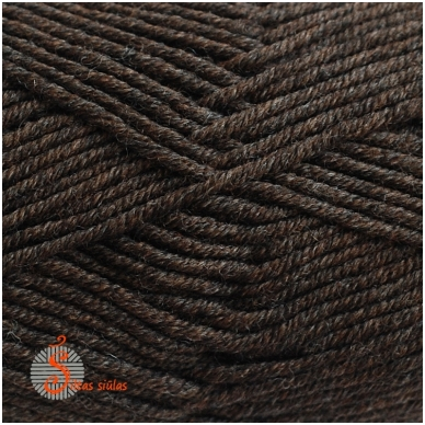 Extrafine Merino 120 tamsiai ruda 294 2