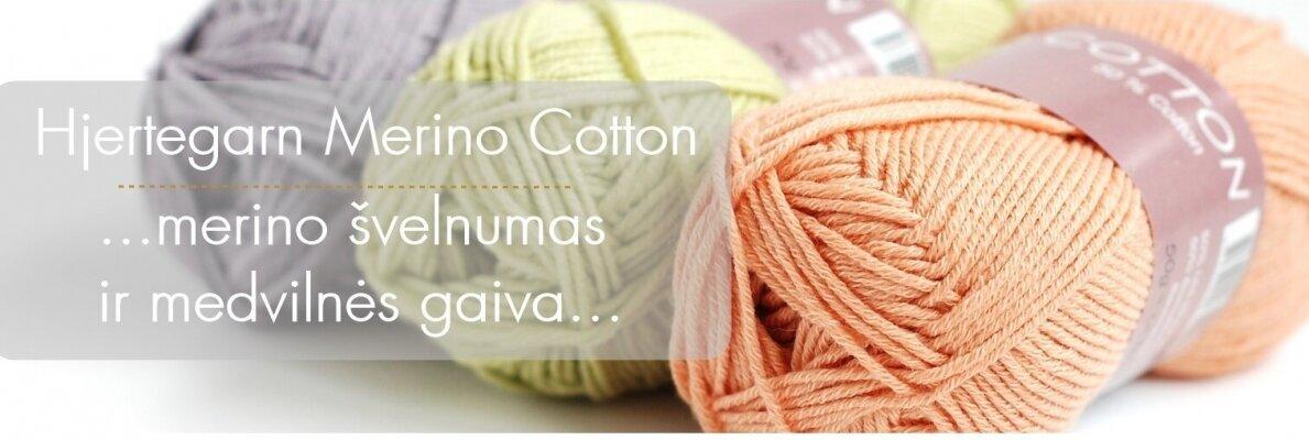 Merino Cotton naujas