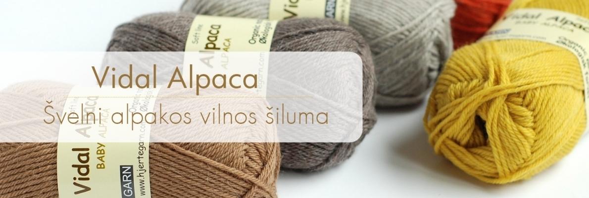 Vidal Alpaca naujas spalvynas