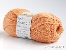 Hjertegarn Lana Cotton 212 persikai 1231