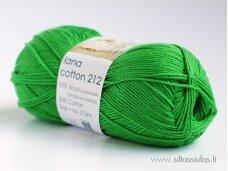 Hjertegarn Lana Cotton 212 sodri žolė 0145