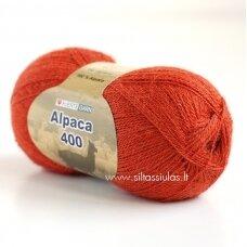 Hjertegarn Alpaca 400 rudens oranžinė 1897