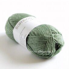 Hjertegarn Bamboo Wool 115 gluosnio žalia