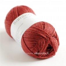 Hjertegarn Bamboo Wool 1426 plytų raudona