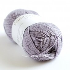 Hjertegarn Bamboo Wool 3906 pilkai violetinė