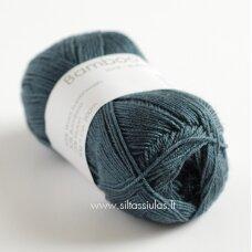 Hjertegarn Bamboo Wool 4220 tamsi melsvai pilka