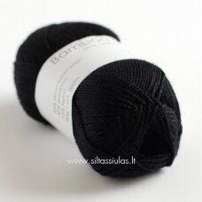 Hjertegarn Bamboo Wool 500 juoda