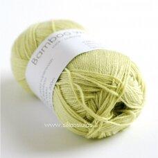 Hjertegarn Bamboo Wool 525 šviesiai salotinė