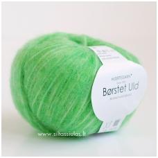 Hjertegarn Brushed Wool 6340 ryškiai žalia