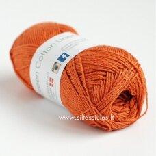 Hjertegarn Green Cotton 1340 deginto apelsino oranžinė
