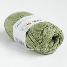 Hjertegarn Green Cotton Linen 115 gluosnio žalia