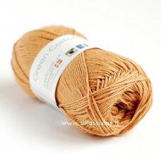 Hjertegarn Green Cotton Linen 1333 riešutų sviesto rusva