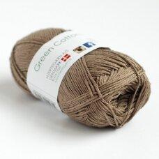 Hjertegarn Green Cotton Linen 2133 gvazdikėlių ruda
