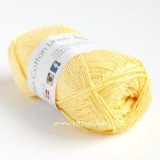 Hjertegarn Green Cotton Linen 3050 saulės geltona