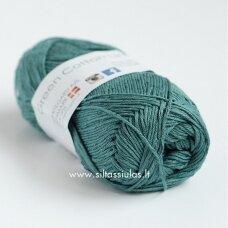 Hjertegarn Green Cotton Linen 4612 tamsi šalavijų žalia