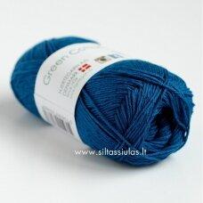 Hjertegarn Green Cotton Linen 4630 jūros bangos mėlyna