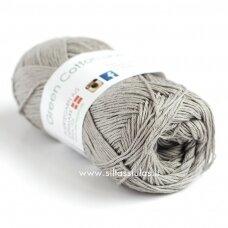 Hjertegarn Green Cotton Linen 4702 rusvai pilka
