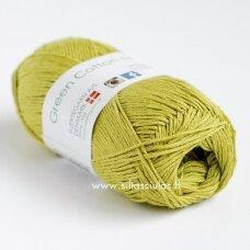 Hjertegarn Green Cotton Linen 532 pavasario žalia