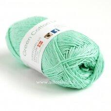 Hjertegarn Green Cotton Linen 5711 smaragdo žalia