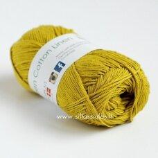 Hjertegarn Green Cotton Linen 639 pistacijų žalia