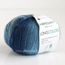 Hjertegarn Longcolors 604 Jūros bangomis