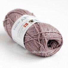 Hjertegarn new Arezzo 1505 pilkai violetinė