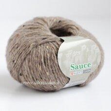 Hjertegarn Sauce 2616 rusvai pilka