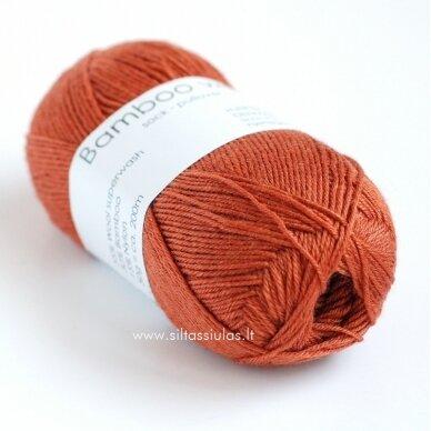Hjertegarn Bamboo Wool 1343 rudens ryža
