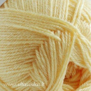 Hjertegarn Bamboo Wool 3050 gelsva 2
