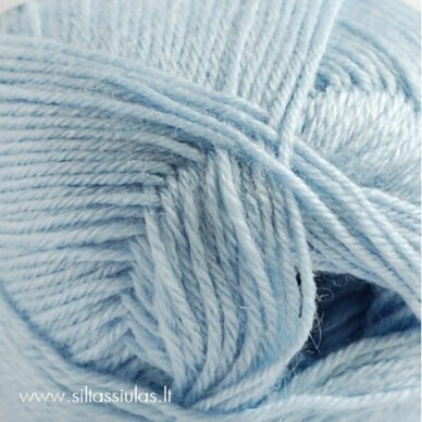 Hjertegarn Bamboo Wool 5105 šviesiai melsva 2